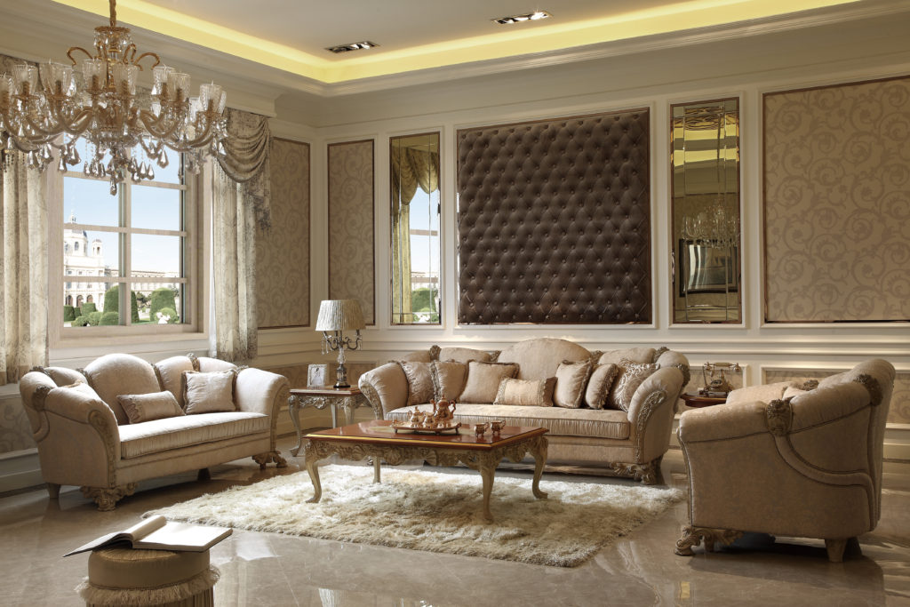 Luxury Living Room Set - Furniture Collection